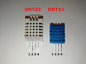 DHT11 und DHT22