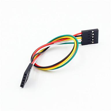 DuPont 5-polig, 2,54 mm Buchse auf Buchse Verlängerungskabel Kabel für arduino- (20cm)